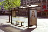 Bus stop Stockholm