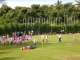 Tonga warming up
