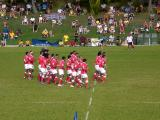 Tonga's haka (war dance thingy)