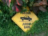 I never found out what a judder bar is
