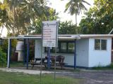 Air Rarotonga city ticket office...looks like the agent is on break