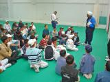 Azaad visit to Headingley 250404