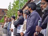 Welcoming the Pakistan dignatories