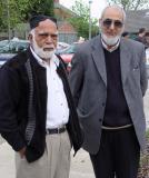 Haji Masoom with friend