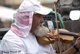 Violino appoggia barba