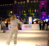 Iceskating at the reisenstag