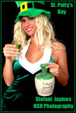 Stefani Jaymes:  Miss March:  St Patty Day