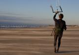 Kiteboard Idling