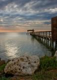 Fulton Beach Pier & Rock