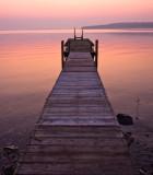 Pastel Sunrise & Pier