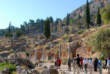 The site of the Oracle at Delphi, Greece