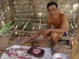 Preparing Fish Lahp