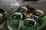 Lunch in an Akha village