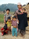 Akha family - Ban Nammat Mai