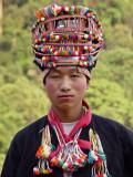 Akha man with trad head dress