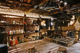 Kitchen of house of Mr Bounsi - headman