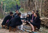 Laos - Lantien Ceremonies-Ordination in Ban Nam An, Luang Namtha