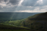 Gods Rays over Littondale  DSC_9156