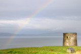 Rainbow over Uig Folly  09_DSC_1725