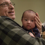 DSCF4448 Grandpa & Aidan 1st Time