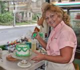Cake Decorator at Captain May's Bake Shop