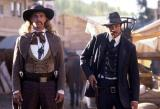 Keith Carradine (left) as Wild Bill Hickok in HBO's 'Deadwood