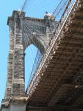 Photos from the pier of the Brooklyn Bridge area NY NYC Manhattan New York
