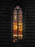 Stained Glass and alabaster window7231