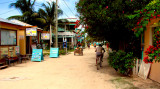 Down town Caye Caulker