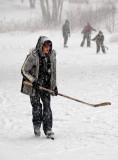 Shinny - a Canadian tradition