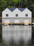 Boathouse on Kearney Lake