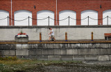 Walking the seawall, Sidney, BC
