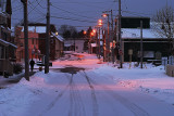 Main street morning. Annapolis Royal, Nova Scotia