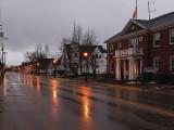 A quiet morning. Middleton, Nova Scotia