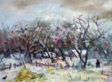 Iarna in sat(colectie particulara)