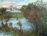 Peisaj cu lac