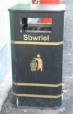 Welsh for litter.