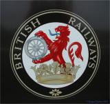 British Railways coach crest.
