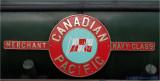 Canadian Pacific.  Locomotive nameplate.