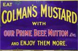 Colemans Mustard.