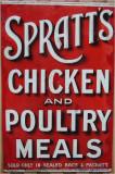 Spratts Sign.