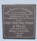First Printing Press sign