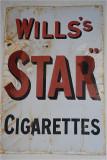 Star cigarettes.