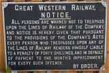 GWR Notice.