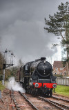 45231 arriving at Crowcombe.