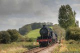 88 approaching Williton on the West Somerset Railway