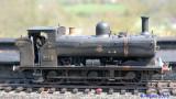 5742 a grubby Pannier tank (ex GWR)