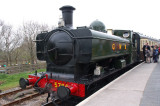 5786 on the South Devon Railway - a pannier tank of the 1930's