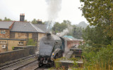 60007 Sir Nigel Gresley an A4 - this type ran between 1935 to 1968 at the end of steam.