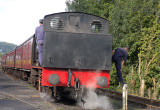 Gwili Railway -some 12 miles from my home - this shows how the stop at loco moving :-)